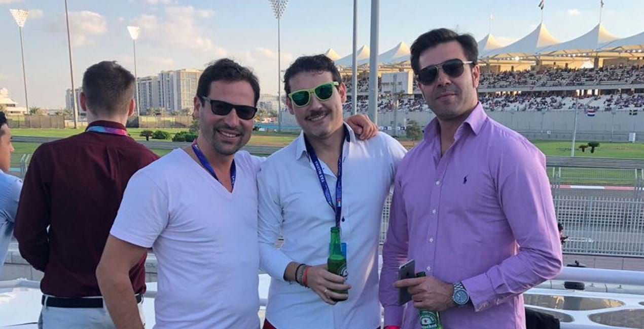 RIF Trust takes VIP guests to Abu Dhabi Grand Prix